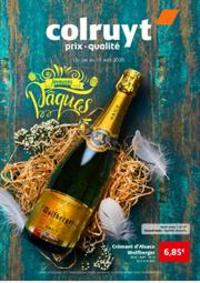 Prospectus Colruyt ZONHOVEN : Prix Qualitee