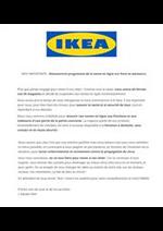 Prospectus IKEA : Réouverture progressive