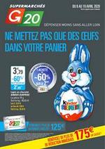Prospectus G20 : Ne mettez pas que des œuf dans votre panier