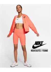 Prospectus Nike PARIS 65 à 67 Avenue des Champs Elysees : Nouveautés / Femme