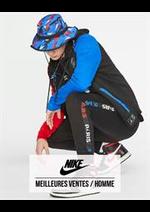 Catalogues et collections Nike : Meilleures Ventes  Homme