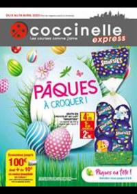 Prospectus Coccinelle Express Alfortville : Pâques à croquer!