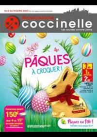 Prospectus Coccinelle Supermarché Paris 15 : Pâques à croquer!