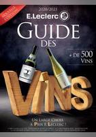 Guide des vins - E.Leclerc