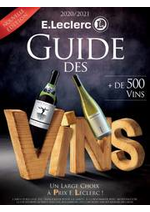 Prospectus  : Guide des vins