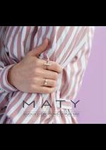 Prospectus Maty : Nouveautés