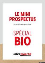 Prospectus Intermarché Super : Spécial Bio