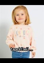 Prospectus Tape à l'oeil : Nouveautés Bébé Fille