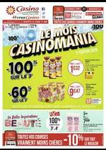 Promos et remises Supermarchés Casino : Le mois Casinomania