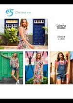 Catalogues et collections e5 Mode : Liberty Island