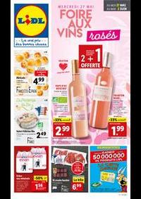 Prospectus Lidl HOUTAUD : Foire aux vins rosés