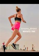 Catalogues et collections Oysho : Nouveautés  Sport