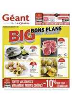 Prospectus Géant Casino : Big bons plans