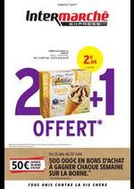 Prospectus Intermarché Express : 2 + 1 OFFERT