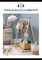 Prospectus Søstrene Grene : Place au jeu et à la créativité