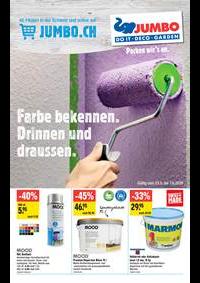 Promos et remises Jumbo Allschwil : Extra: Farben