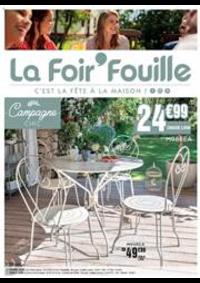 Prospectus La Foir'Fouille BRETIGNY SUR ORGE : C'est la fête à la maison!
