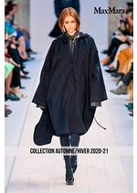 Catalogues et collections Max Mara : Collection AutomneHiver 2020-21
