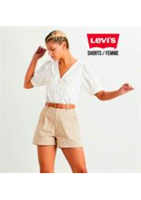 Catalogues et collections Levi's Store Pairs Italie : Shorts  Femme