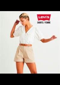 Catalogues et collections Levi's Store Paris Fg St Antoine : Shorts  Femme