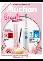 Prospectus Auchan : Beauté Attitude