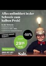 Promos et remises Salt : Salt Offers