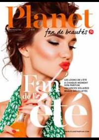 Journaux et magazines Planet Parfum Parfumerie Anderlecht Westland Shopping Center : Summer trends