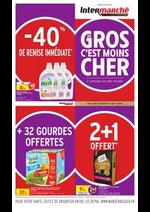 Prospectus Intermarché Super : GROS EN C'EST MOINS CHER