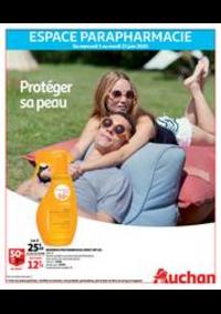 Prospectus Auchan ISSY LES MOULINEAUX : Protéger sa peau