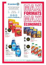 Prospectus E.Leclerc : MAXI FORMATS MAXI ÉCONOMIES