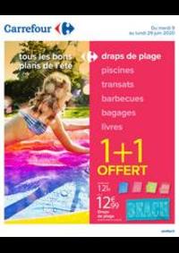 Promos et remises Carrefour JEUXEY : Tous les bons plans de l'été
