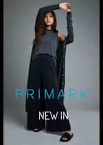 Prospectus PRIMARK : New In