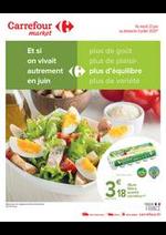 Prospectus Carrefour Market : Manger mieux Juin
