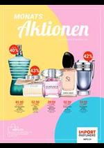 Promos et remises Import Parfumerie : Monats Aktionen