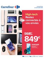 Prospectus Carrefour : HIGH-TECH RESTEZ CONNECTES A VOS ENVIES