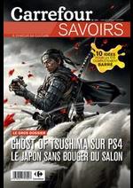 Prospectus Carrefour : Savoirs Juillet