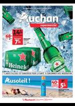Prospectus Auchan Supermarché : Au soleil !