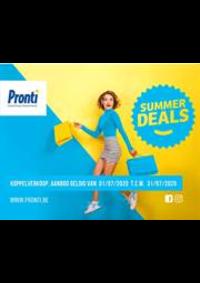 Promos et remises Pronti Bruxelles Neuve : Pronti Deals