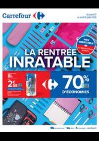 Prospectus Carrefour AULNAY SOUS BOIS : La rentrée inratable