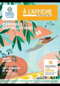 Prospectus E.Leclerc VARENNES SUR SEINE : BIENVENUE À CULTURE-LES-BAINS