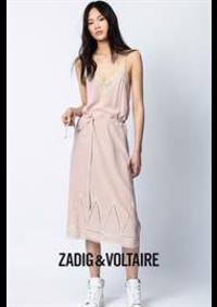 Prospectus Zadig et Voltaire PARIS 21 cours de Vincennes : Nouveautés / Femme