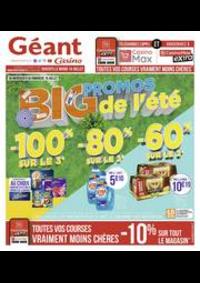 Prospectus Géant Casino BOISSY SAINT LÉGER : Big promos de l'été