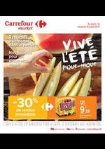 Prospectus Carrefour Market : Vive l été, pique-nique