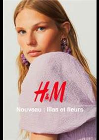 Catalogues et collections H&M Aulnay Sous Bois : Nouveau - lilas et fleurs