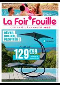 Prospectus La Foir'Fouille PONTAULT COMBAULT : Rêver, buller, profiter!