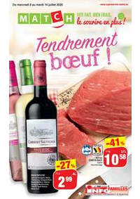 Promos et remises Match DINANT : Folder Match