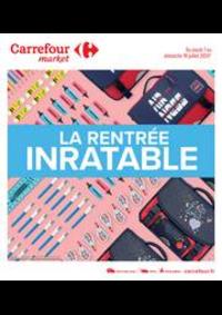 Prospectus Carrefour Market NOISY LE SEC : La rentrée inratable