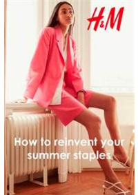 Catalogues et collections H&M Mouscron : How to reinvent your summer staples