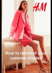 Prospectus H&M Saint Orens de Gameville : How to reinvent your summer staples