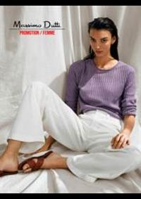 Catalogues et collections Massimo Dutti PARIS : Promotion  Femme